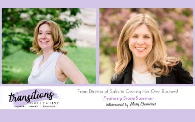 From Director of Sales to Owning Her Own Business!