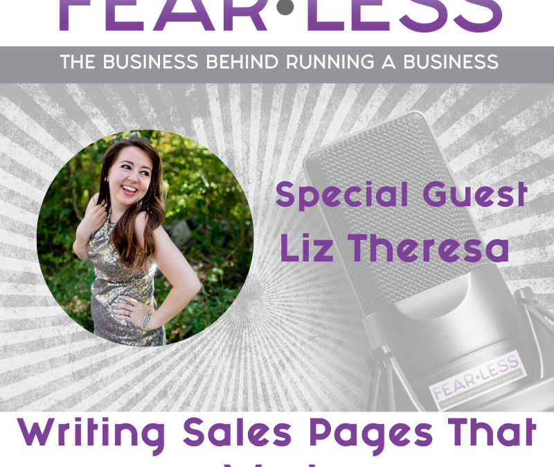 Episode 110: Writing Sales Pages That Work