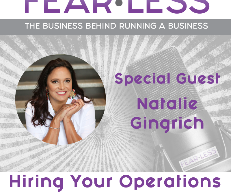 Episode 138 – Hiring Your Operations Team Member