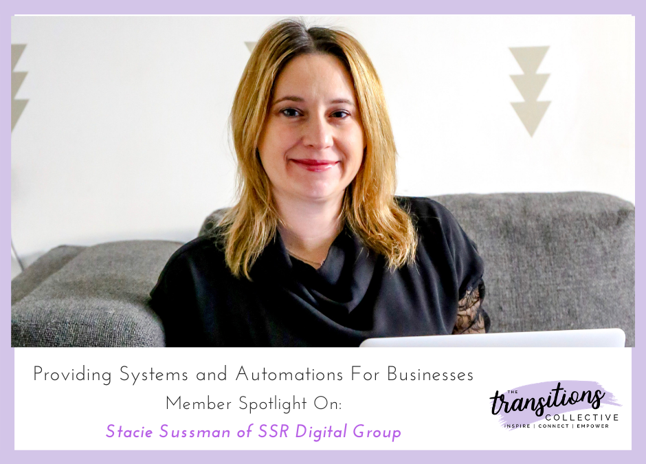 Systems and Automation: Member Spotlight on Stacie Sussman