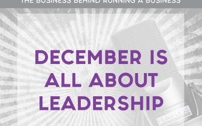 Episode 144 – December Is All About Leadership