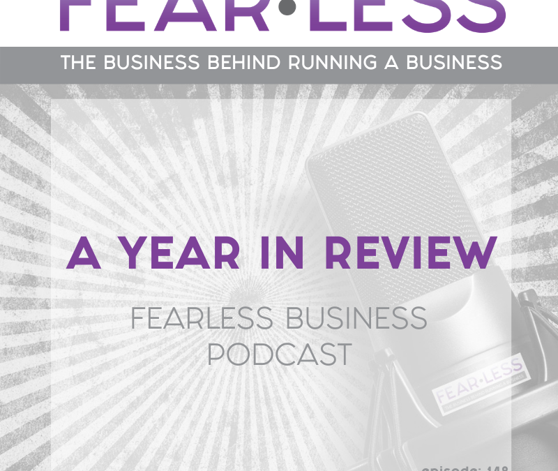 Episode 148 – A Year In Review